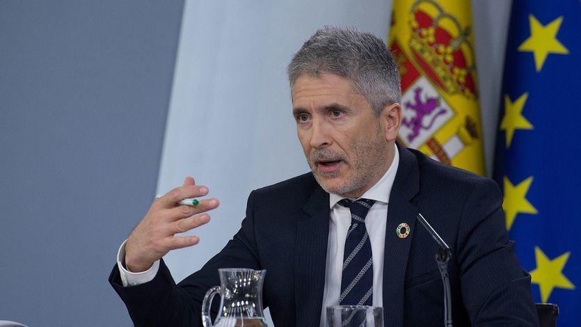 Moncloa niega la reprimenda de Marlaska a la Guardia Civil por la detención de los CDR