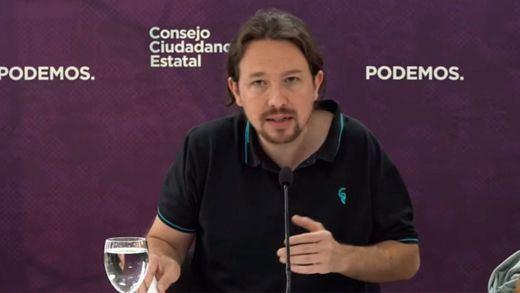 Iglesias asegura que Errejón no es el adversario, pero le achaca pretender 'apuntalar el bipartidismo'