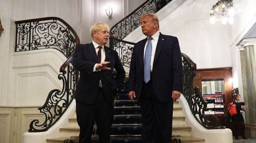 La política tradicional se blinda contra los 'hooligans': Boris Johnson y Donald Trump podrían acabar cesados
