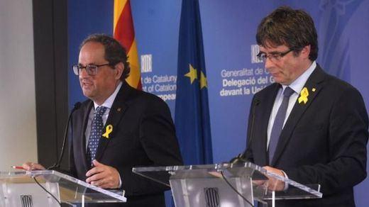Los autos de prisión de los independentistas detenidos: así son sus vínculos con Puigdemont y Torra