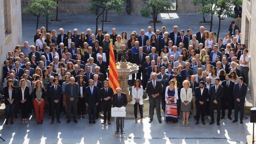 1-O: Torra se compromete a 'avanzar sin excusas hacia la República Catalana'