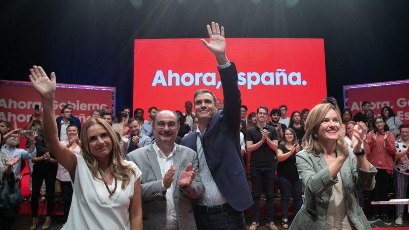 Sánchez ya no sólo pide el voto para ganar, también para poder evitar a Podemos: '¿Queremos un gobierno o queremos más bloqueo?'
