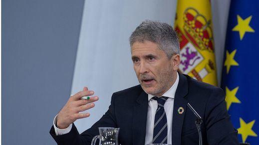 Marlaska, sobre la activación de la Ley de Seguridad Nacional en Cataluña: