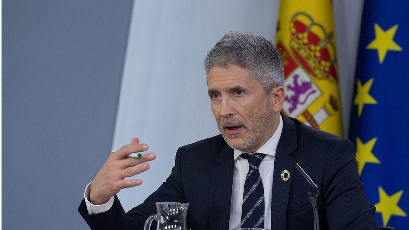 Marlaska, sobre la activación de la Ley de Seguridad Nacional en Cataluña: 'El Gobierno actuará en la forma oportuna'
