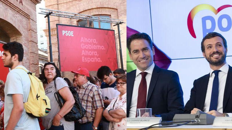 Los partidos reducen el gasto electoral y renuncian a carteles y banderolas por las calles para la campaña
