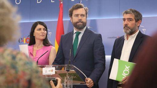 Vox rechaza la petición del PP para concurrir a las elecciones del 10-N 'al estilo Errejón'