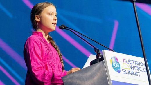 Greta Thunberg suena para el Nobel de la Paz de 2019