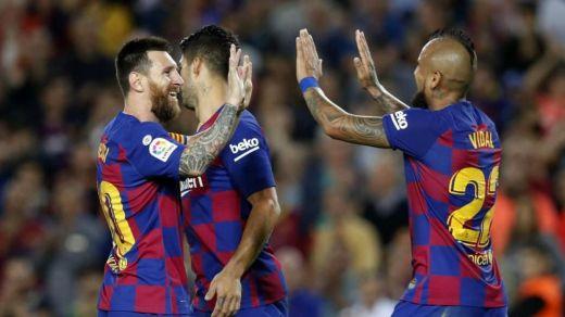 El Barça se sube al tren de la Liga y el Atlético flojea en pleno arreón madridista