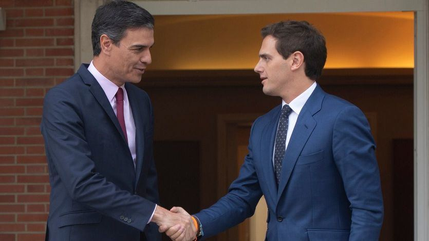 Las condiciones de Rivera para apoyar al PSOE: que rectifique y bloquee a los 'separatistas'
