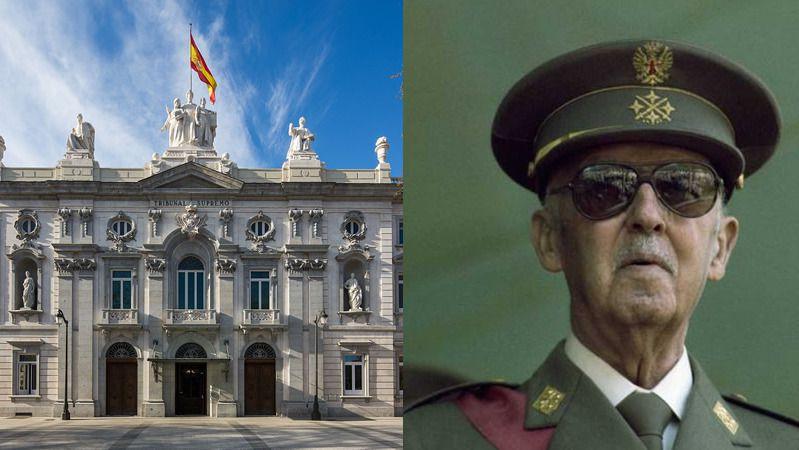 El Supremo cierra las puertas a la familia Franco: no aclarará más su sentencia que permite la exhumación