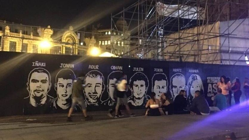 Los condenados por las agresiones de Alsasua ven notablemente rebajadas sus condenas
