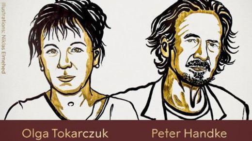 El Nobel de Literatura vuelve a dejar sin premio a Murakami: Peter Handke y Olga Tokarczuk, ganadores