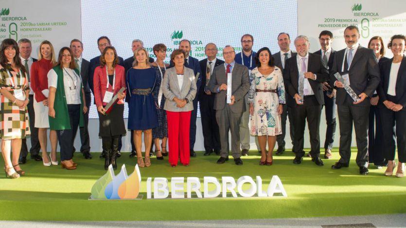 Premios Iberdrola al Proveedor del Año en España 2019
