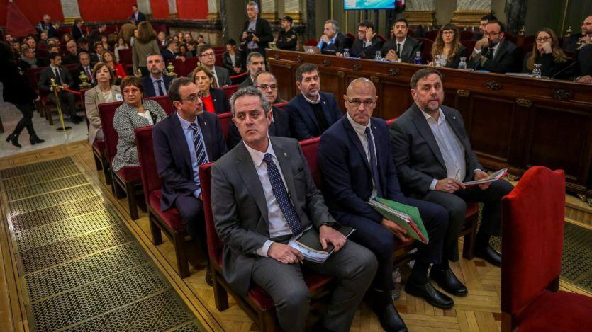 Las condenas a los procesados catalanes, detalladas una por una