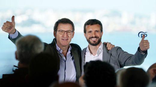 El PP engulle a la derecha en una nueva encuesta y ya pugna con el PSOE por victoria electoral