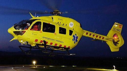 Helicóptero del Sistema de Emergencias Médicas de Cataluña (SEM)