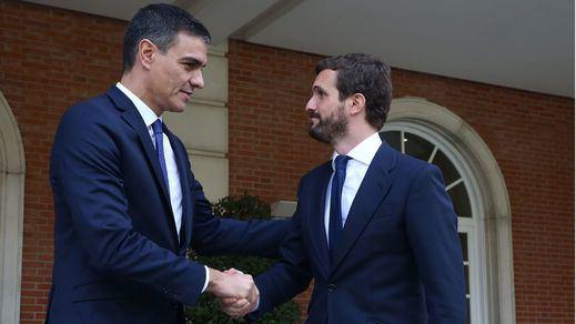 Casado reclama a Sánchez aplicar ya la ley de Seguridad Nacional y actuar contra Torra