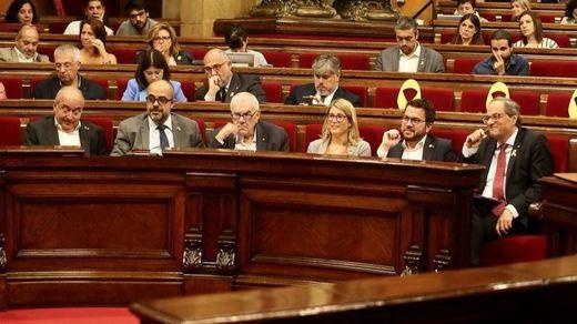 ERC y la CUP se desmarcan de la propuesta de referéndum de Torra que desconocía hasta JxCat