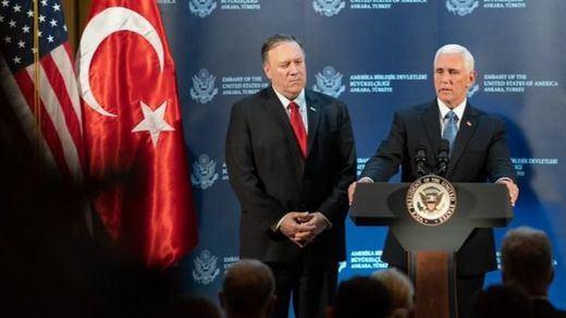 Turquía acepta la exigencia de EEUU de suspender su ofensiva militar en Siria