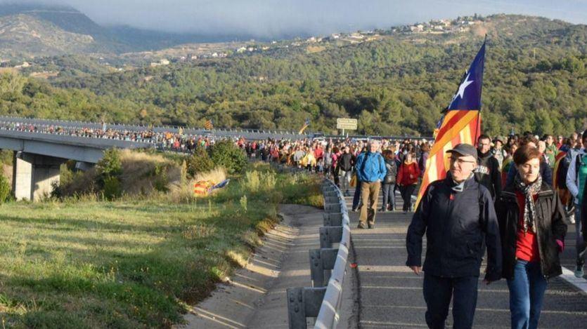 Marchas por la Libertad en Cataluña