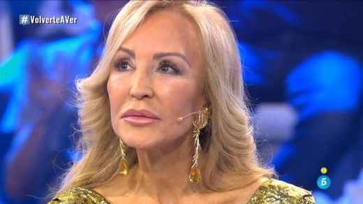 El televisivo reencuentro de Carmen Lomana con su primer amor