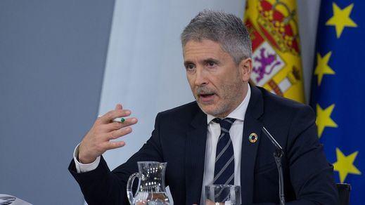 Sánchez sigue sin coger el teléfono a Torra y Marlaska explica: hace falta una condena firme de la violencia