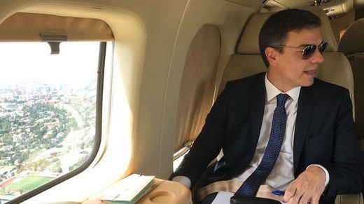 Sánchez anuncia por sorpresa una visita a Barcelona para visitar a los policías heridos en los disturbios