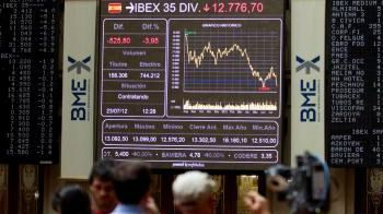 El Ibex 35 pierde los 9.400 puntos lastrado por el sector bancario