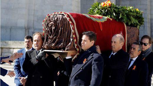 Galería de imágenes: exhumación de Franco del Valle de los Caídos