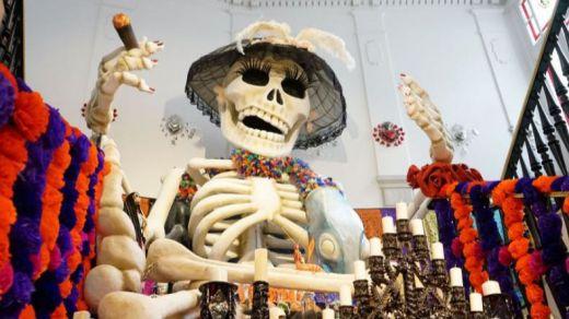 Día de Muertos en la Casa de México en España