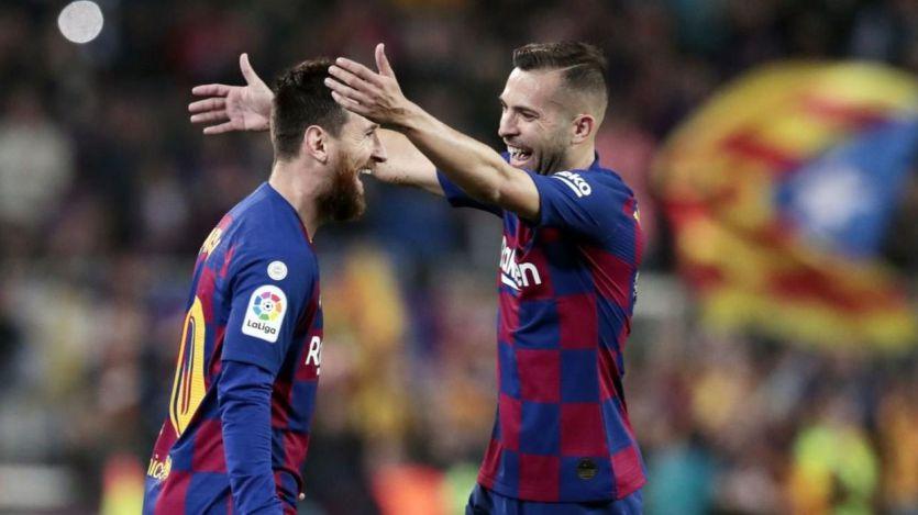 Messi vuelve a sentar cátedra (5-1 al Valladolid) y el Atlético a flojear (1-1 ante el Alavés)