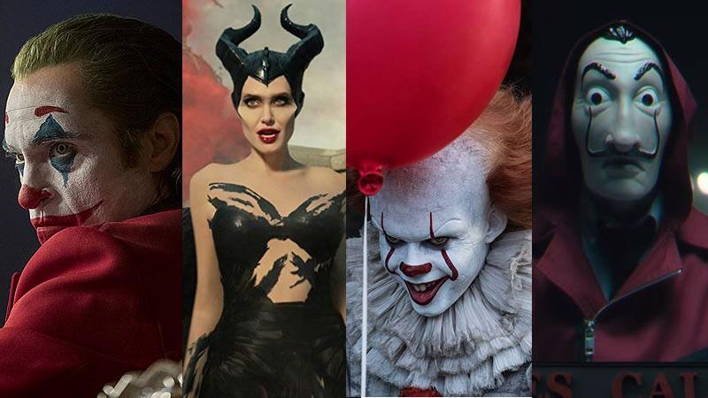 Los mejores disfraces de miedo para Halloween: el Joker y el payaso Pennywise triunfan