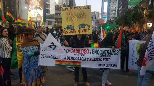 Bolivia: cronica de un 'golpe de Estado' en primera persona