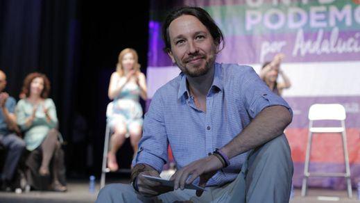 Iglesias sigue haciendo campaña con el pacto PSOE-PP y no se fía de la promesa de Sánchez