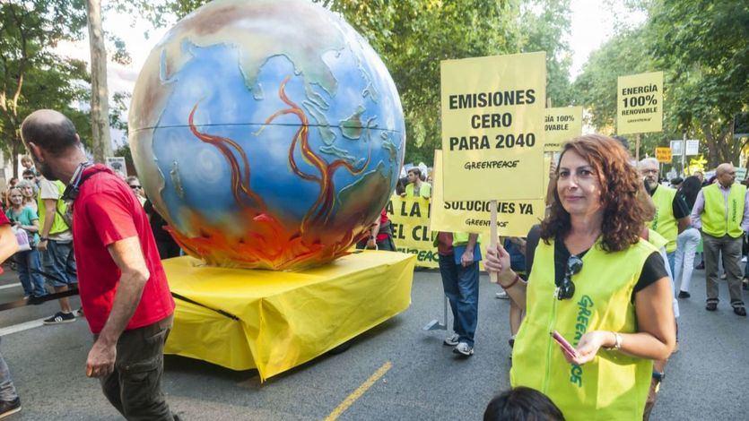 Manifestación Huelga por el Clima en Madrid el pasado mes de septiembre