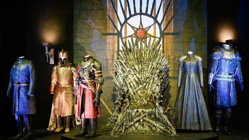 El 'desembarco' en Madrid de la exposición de Juego de Tronos