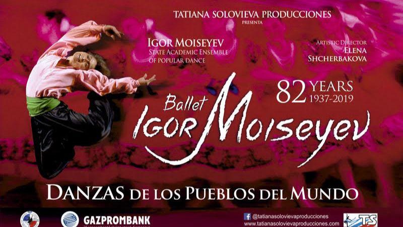 Gira española del mítico Ballet de Igor Moiseyev, que regresa a nuestro país dos décadas después (vídeo)
