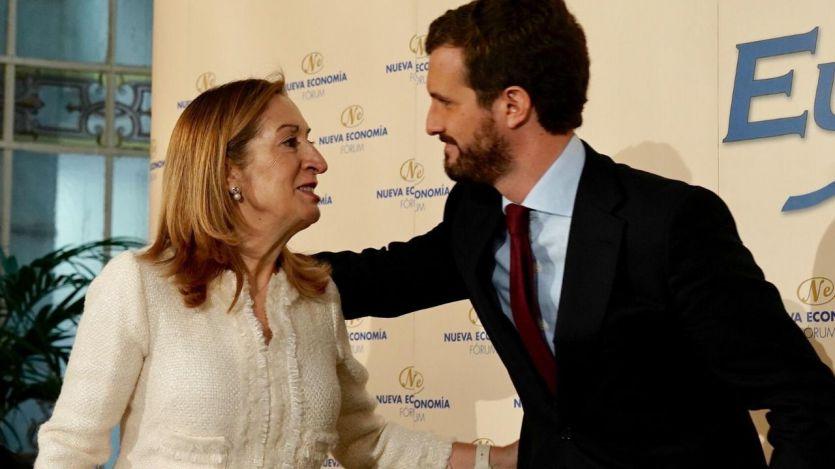 Casado responde al 'nombramiento' de Calviño por Sánchez anunciando a Ana Pastor como ministrable
