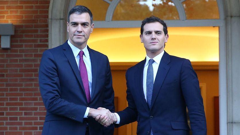 Rivera plantea pactar los Presupuestos con Sánchez, si no gana la derecha, para evitar unas terceras elecciones