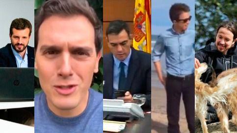 Así han pasado los candidatos la jornada de reflexión: entre el descanso y Cataluña