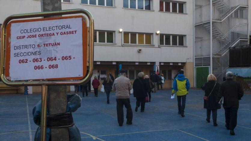 La incertidumbre y el fantasma del bloqueo, protagonistas de la jornada electoral