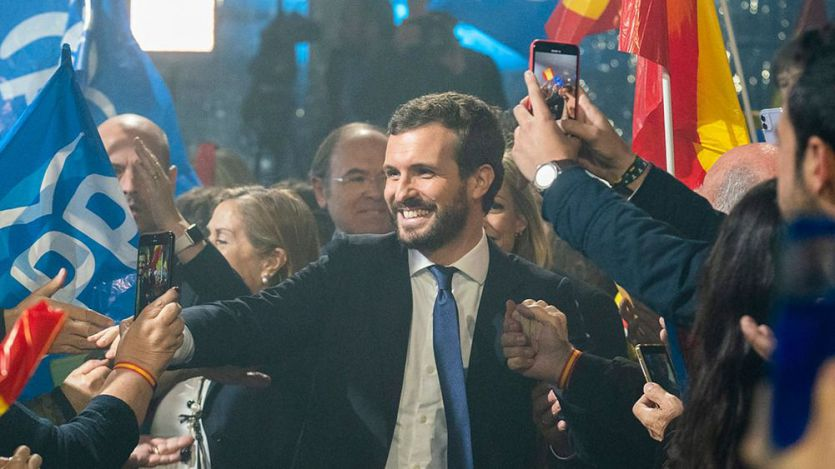 Resultados de las elecciones 10-N en Madrid: PP y PSOE se reparten el liderazgo con Vox muy cerca como tercera fuerza política
