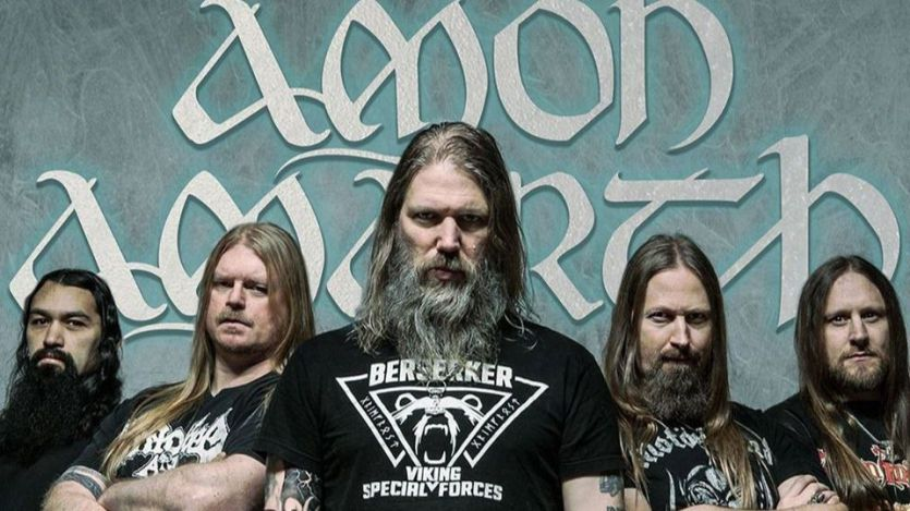 Llegan los vikingos de la mano de Amon Amarth