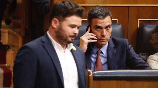 ERC no desvela sus cartas: no votará a favor de Sánchez pero no descarta abstenerse