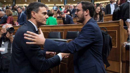Alberto Garzón (IU) no coloca la coalición como línea roja, pero reclama a Sánchez que elija ya: 'Derecha o izquierda'