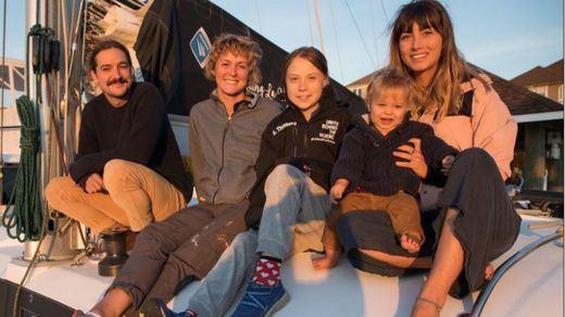 Greta Thunberg cruzará el Atlántico en catamarán para venir a la Cumbre del Clima de Madrid