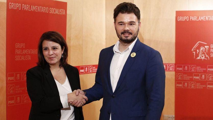 El PSOE pisa el acelerador y se cita con ERC este jueves
