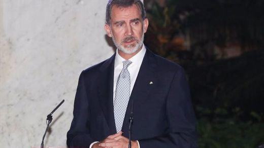 El Rey defiende los derechos humanos en Cuba y se ofrece a acompañar la transición democrática de la isla