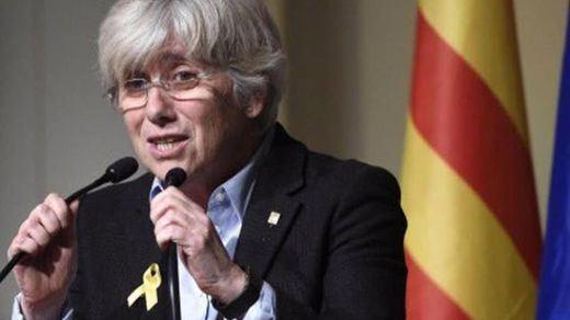 Clara Ponsatí se entrega a la policía acatando la euroorden de la Justicia española