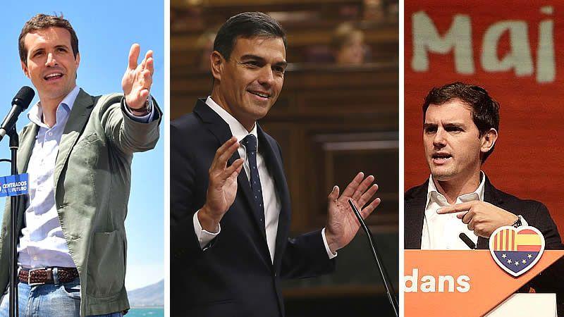 PP y Cs tiran de hemeroteca para afear a Sánchez su pacto con Iglesias